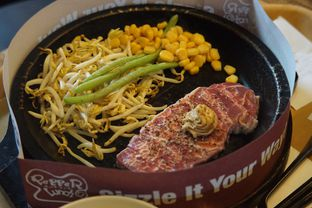 Foto 1 - Makanan( Pepper Steak) di Pepper Lunch oleh Fadhlur Rohman
