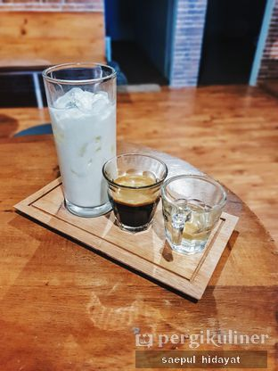 Foto 1 - Makanan(Cappuccino) di Tuxedo Coffee oleh Saepul Hidayat