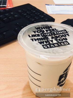 Foto 1 - Makanan(Ice Hazelnut Latte (Half Sugar)) di Flip Burger oleh Sienna Paramitha