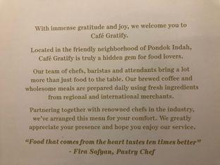 Foto review Cafe Gratify oleh Ardelia I. Gunawan 7