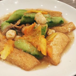 Foto 1 - Makanan(Fried Tofu W/ Minced Chicken) di Hong Kong Cafe oleh Magdalena Fridawati