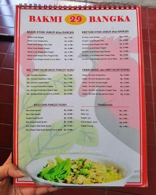 Foto 4 - Menu di Mie Baso Pangsit & Bakmi Bangka Special 29 oleh Eat and Leisure