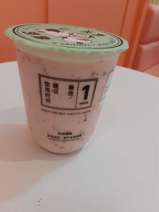 Foto 1 - Makanan(Straw to my berry) di Yomie's Rice X Yogurt oleh Threesiana Dheriyani