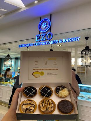 Foto 1 - Makanan di Ezo Hokkaido Cheesecake & Bakery oleh Vryncess Kwok