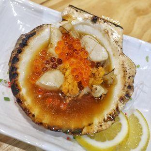 Foto 4 - Makanan(Live scallop) di Nama Sushi by Sushi Masa oleh Stellachubby