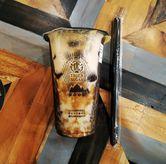 Foto Brown Sugar Black Tea Boba di Tiger Sugar