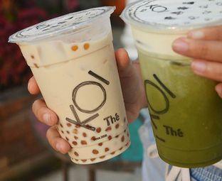 Foto - Makanan(Golden Bubble Milk Tea & Matcha Machiato) di KOI The oleh Desanggi  Ritzky Aditya