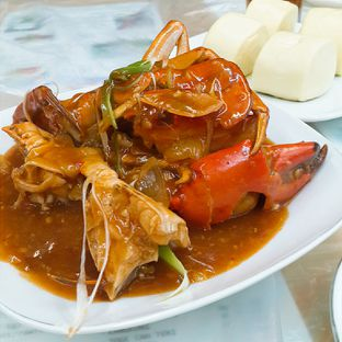 Foto 1 - Makanan(Kepiting saos singapura 0.51kg ) di Chef Epi oleh @tasteofbandung