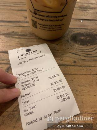 Foto review Rooftop Coffee Shop oleh a bogus foodie  2