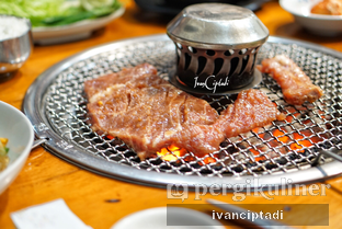 Foto 2 - Makanan(Dwae Ji Yang Nyeom Gu I) di Myeong Ga Myeon Ok oleh Ivan Ciptadi @spiceupyourpalette