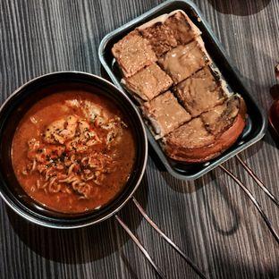 Foto - Makanan(Mie kuah lvl warcak dan roti peanut butter ) di Warcak (Warung Kocak) oleh Cel