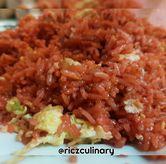 Foto Nasi Goreng Merah (Dari Dekat) di RM Irtim Makassar