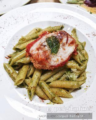 Foto 1 - Makanan(Chicken Parmigiana Pasta) di Kitchenette oleh Saepul Hidayat