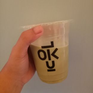 Foto 1 - Makanan(Es Matcha Latte) di Kedai Kopi Kulo oleh Afifah Romadhiani