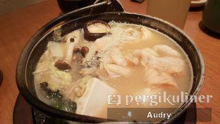 Foto 8 - Makanan(salmon belly misoshiru) di Sushi Tei oleh Audry Arifin @thehungrydentist