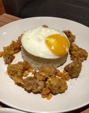 Foto 3 - Makanan(Steam Rice With Slated Egg Rice (IDR 48k) ) di Coffee Motion oleh Renodaneswara @caesarinodswr