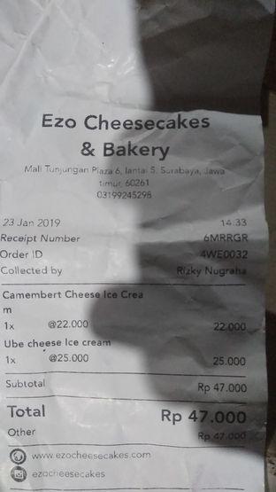 Foto 2 - Menu di Ezo Hokkaido Cheesecake & Bakery oleh Agung prasetyo