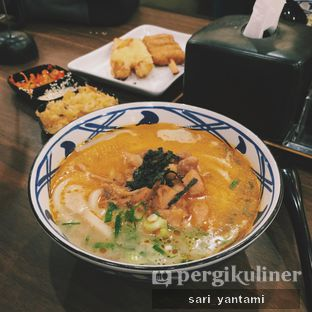 Foto 2 - Makanan(Spicy Tori Baitan Udon) di Marugame Udon oleh Rizki Yantami Arumsari