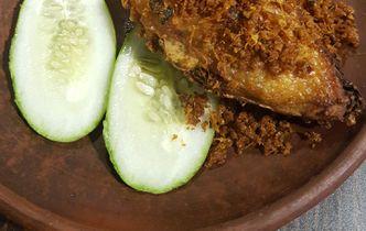 Foto Makanan di Wajan Panas