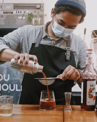 Foto review Socius Coffee House oleh Della Ayu 6
