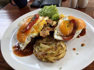 Foto 1 - Makanan(texan brunch) di Poach'd Brunch & Coffee House oleh Budi Lee