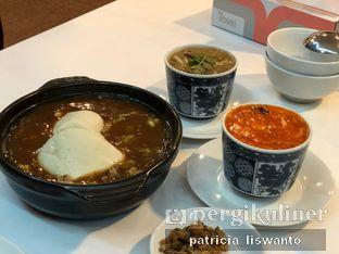 Foto 1 - Makanan(Mun Tahu ikan asin & Soup hisit & soup kepiting perut ikan) di Restoran Sanur oleh Patsyy
