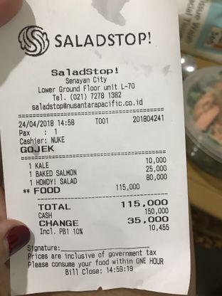Foto 1 - Menu di SaladStop! oleh Lian & Reza ||  IG: @melipirjajan