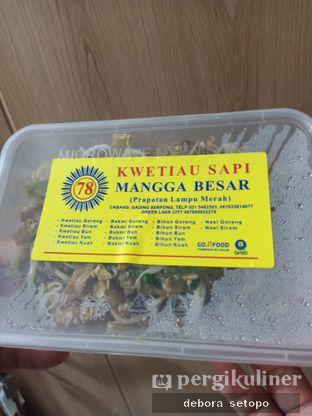 Foto review Kwetiaw Sapi Mangga Besar 78 oleh Debora Setopo 4