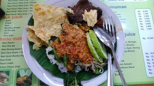 Foto 1 - Makanan(Nasi pecel empal) di Nasi Pecel Mbak Ira oleh Eunice