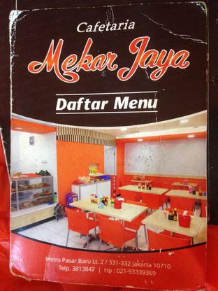 Foto 2 - Menu di Cafetaria Mekar Jaya oleh Komentator Isenk