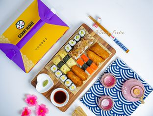 Foto 2 - Makanan di Genki Sushi oleh deasy foodie
