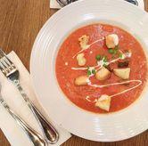 Foto Beef & Macaroni Tomato Soup di Meat Me Steak House & Butchery