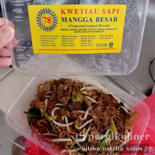 Foto review Kwetiaw Sapi Mangga Besar 78 oleh @NonikJajan  1