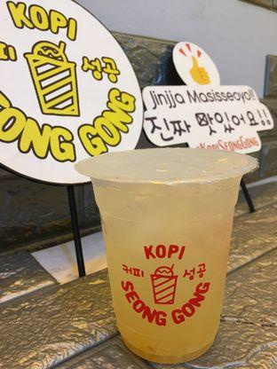 Foto 3 - Makanan(Jeju Fresh) di Kopi Seong Gong oleh Jeljel