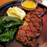 Foto Sirloin Steak di Tokyo Skipjack