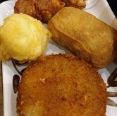 Foto Tamago Tempura, Beef Chicken, Inari, Siomay di Marugame Udon