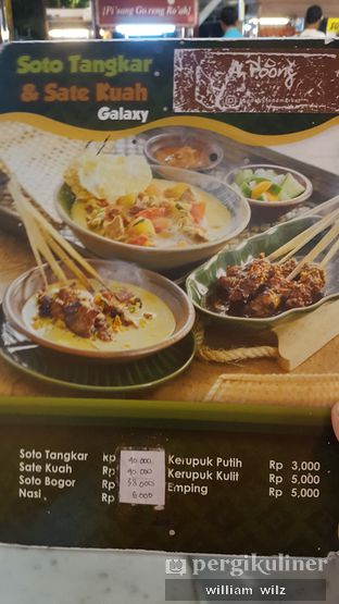 Foto review Soto Tangkar & Sate Kuah Galaxy oleh William Wilz 3