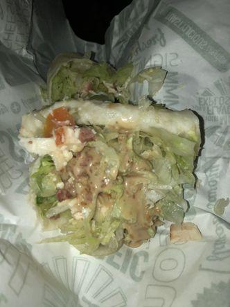 Foto Makanan di Quiznos