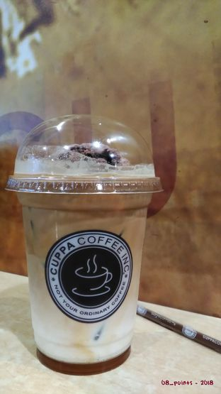 Foto 1 - Makanan(Iced Cuppa Cappuccino with Chocolate Ice Cream) di Cuppa Coffee Inc oleh 08_points