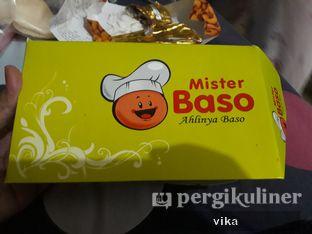 Foto 1 - Makanan di Mister Baso oleh raafika nurf
