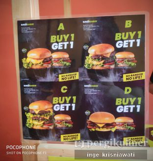 Foto 1 - Menu di Burger Bangor oleh Inge Inge