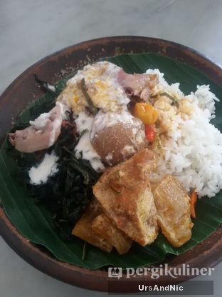 Foto 5 - Makanan(Nasi gudeg ayam telor) di Gudeg Kandjeng oleh UrsAndNic