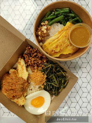 Foto 1 - Makanan(Geprek Fit & Nasi Peranakan) di Klean Bowl oleh JC Wen