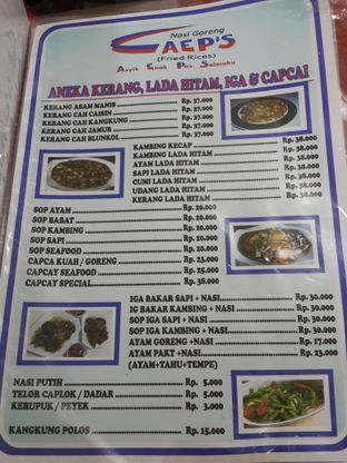Foto 7 - Menu di Nasi Goreng AEP'S oleh NOTIFOODCATION Notice, Food, & Location