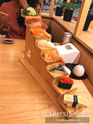 Foto 1 - Makanan(Hiro Deluxe Sushi) di Sushi Hiro oleh Rachel Tobing