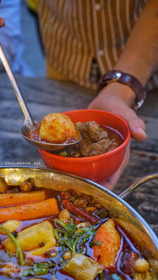 Foto 4 - Makanan di Golden Monkey HotPot & BBQ Mongolian oleh @kulineran_aja