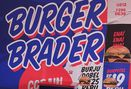 Foto Interior di Burger Brader