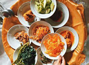 Kenalan dengan Bajamba, Tradisi Makan Bersama Masyarakat Minang