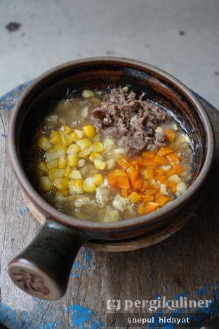 Foto 1 - Makanan(Claypot Soram Telur Matang Daging) di Claypot Popo oleh Saepul Hidayat