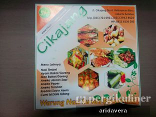 Foto 1 - Menu(Cover Kotak Nasi Cikajang) di Sunda Prasmanan Cikajang oleh Vera Arida